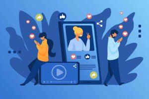 Social Media Vector -The Web Destiny