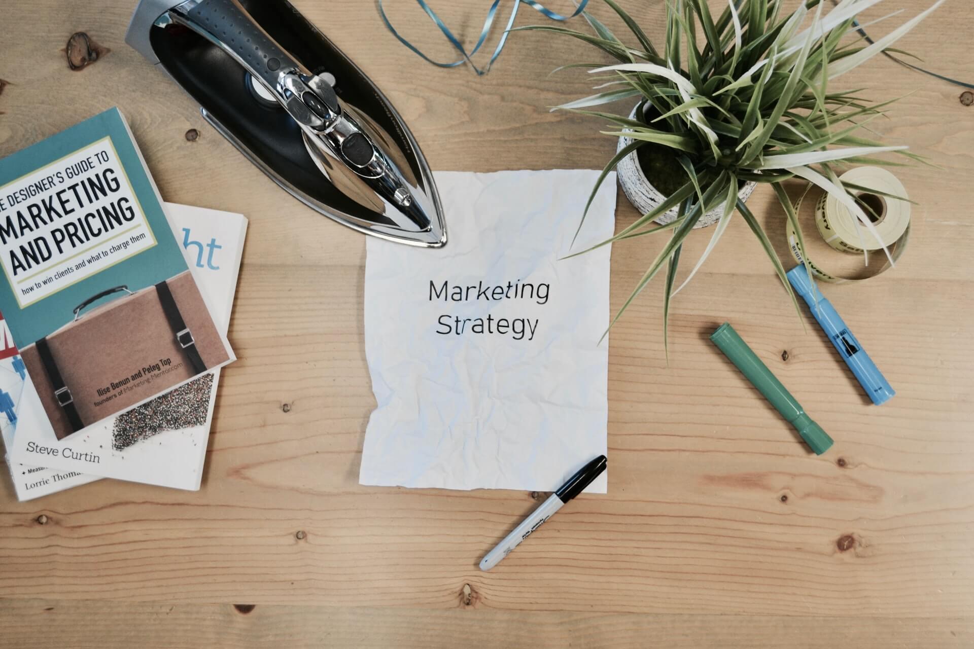 Marketing Strategy - The Web Destiny